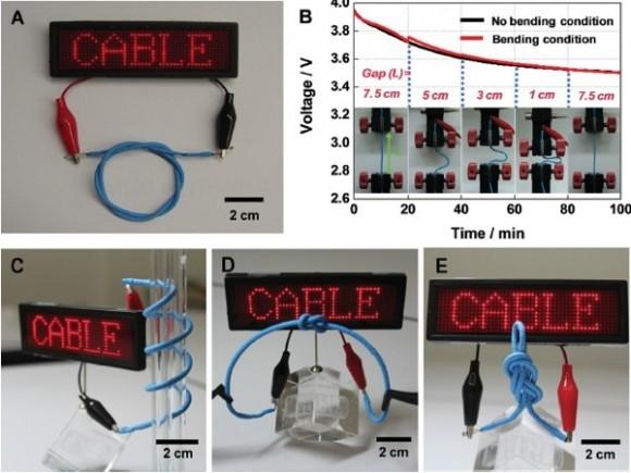 Ученые из LG Chem изобрели гибкий аккумулятор