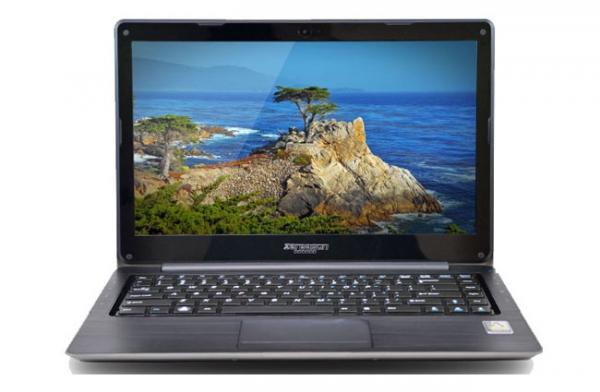 Linux-ультрабук ZaReason UltraLap 430