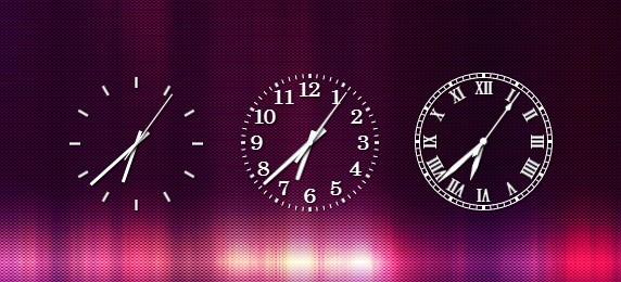Часы SimpleS Clock для десктопа: шикарный минимализм