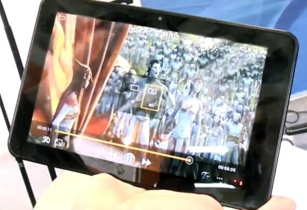Китайцы создают планшет с поддержкой 3D-изображения