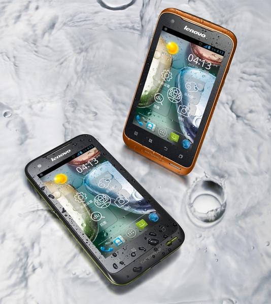 Lenovo A660: водонепроницаемый смартфон с двумя SIM-картами и ОС Android 4.0
