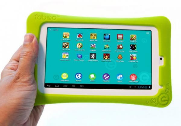 Tabeo – 150-долларовый Android-планшет для детей