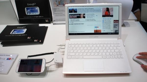 Spider Laptop: «экзоскелет» для смартфона Samsung Galaxy SIII
