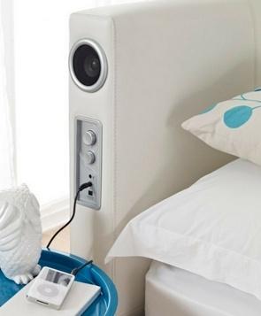 Sound Leather Bed – док-станция для iPod, на которой можно спать