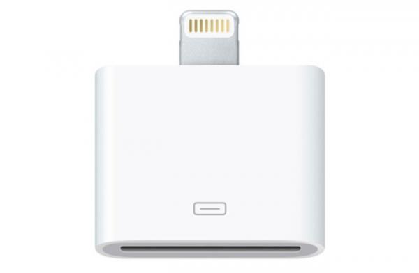 Apple предлагает 30-пиновый адаптер Lightning Port с iPhone 5