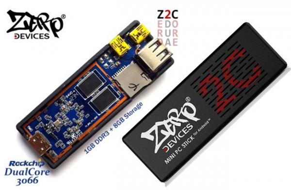 Z2C – мини-ПК на Android от Zero Devices