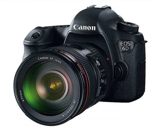 Canon представляет зеркальную камеру EOS 6D