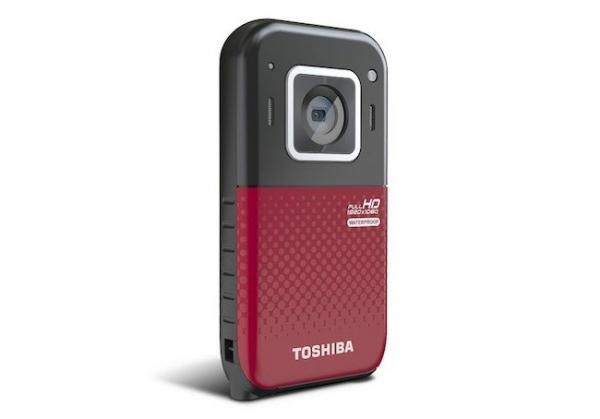 Водонепроницаемый камкордер Toshiba Camileo BW20