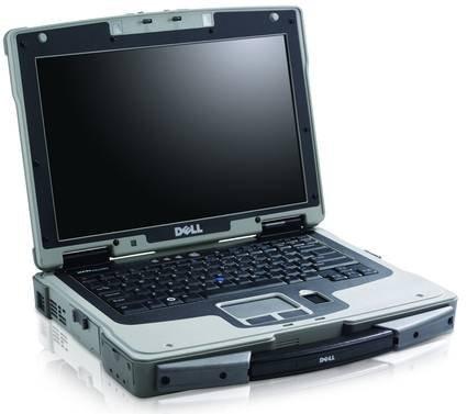 Защищенный ноутбук Dell Latitude XFR D630