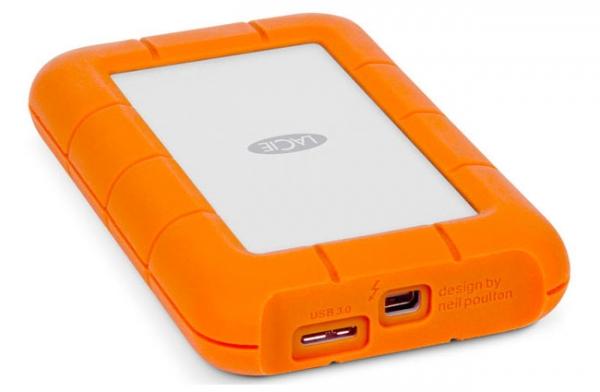 Прочный портативный SSD от LaCie с интерфейсами Thunderbolt и USB 3.0