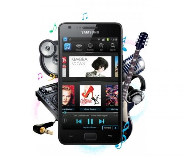 Слухи о музыкальном смартфоне Samsung Galaxy Music Phone