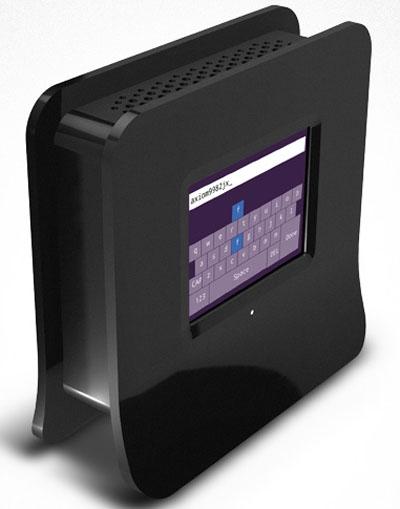 Беспроводной роутер с сенсорным экраном
