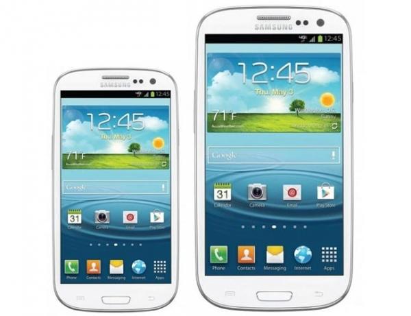 Samsung готовит Galaxy S III Mini (слухи)