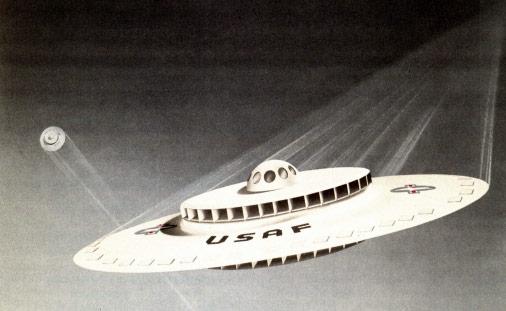 ВВС США рассекретили старый проект летающей тарелки