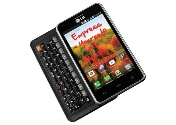 QWERTY-смартфон LG Mach