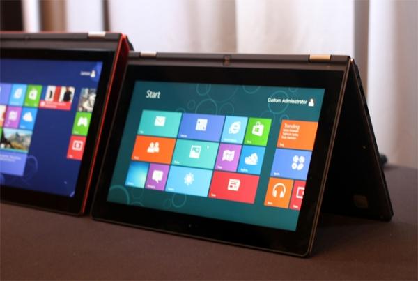 Lenovo IdeaPad Yoga – гибридный планшет с Windows RT