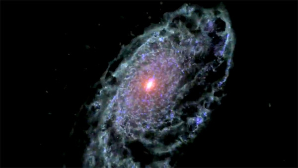 Как зарождалась галактика