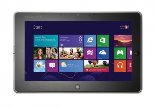 Gigabyte S1082 – планшет с Windows 8