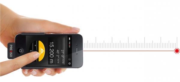 Prexiso iC3 – лазерный дальномер для iPhone