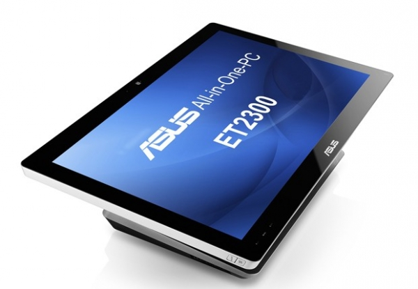 Asus анонсировала интересный моноблок ET2300 под Windows 8
