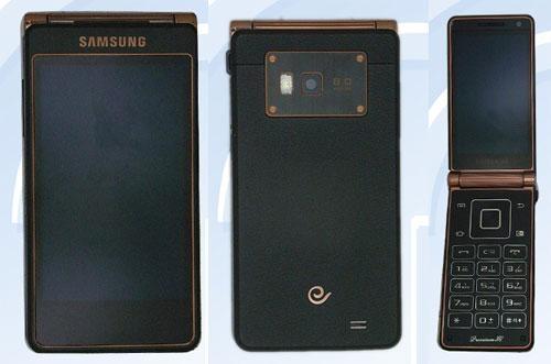 Android-раскладушка от Samsung с приличными характеристиками