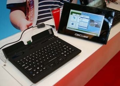 GeCube Genie PC – ультрапортативный компьютер со съемным дисплеем