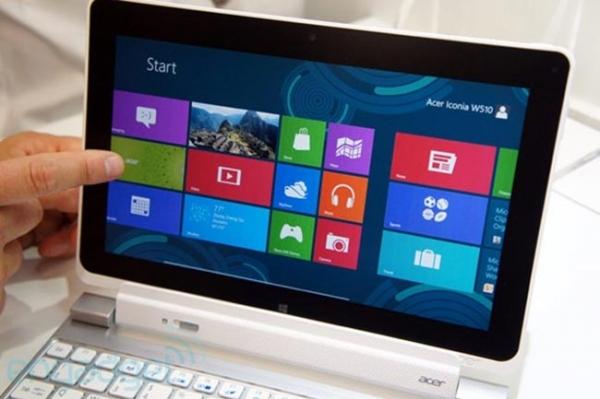 Acer задерживает выпуск планшетов на Windows RT