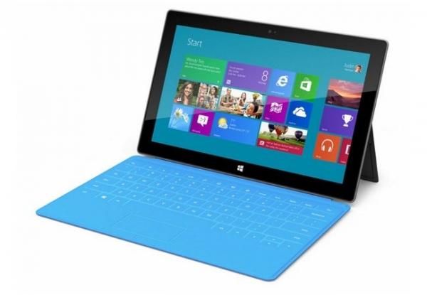 Windows RT использует половину флеш-памяти планшета Surface