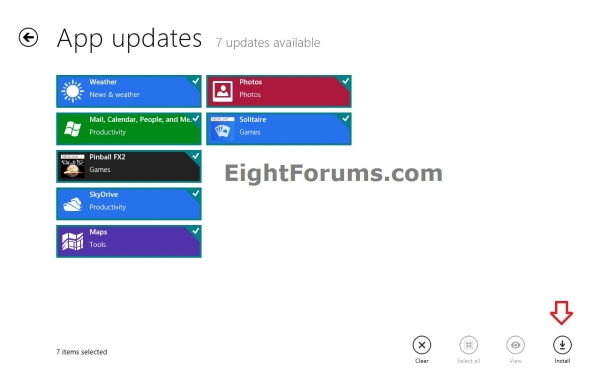 В Windows 8 модернизирована система обновлений – теперь она будет иметь чувство такта и уместности