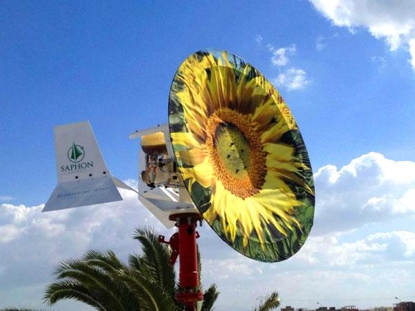 Saphon изобрела дешевые и эффективные «ветряки» без лопастей