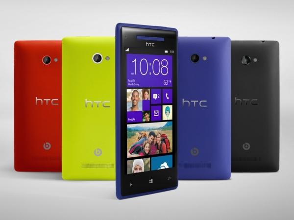 HTC стартует продажи смартфона HTC 8X