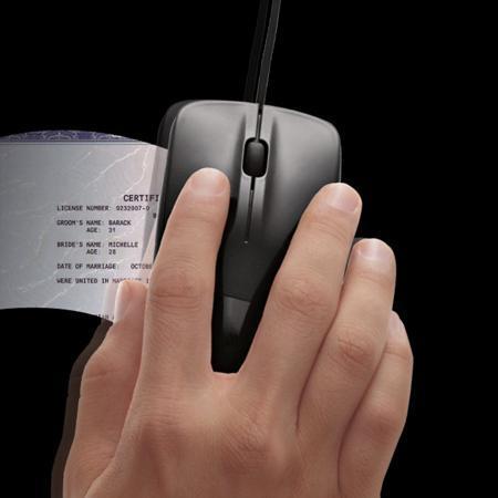 Мышь-сканер Brookstone Scanner Mouse