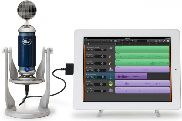 Blue Spark Digital – первый конденсаторный микрофон для iPad