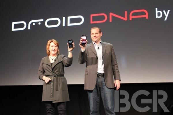 HTC и Verizon анонсируют Droid DNA с 5-дюймовым 1080P дисплеем
