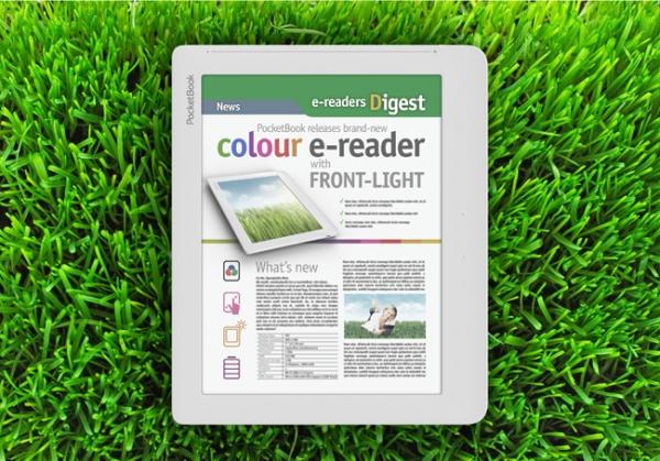 PocketBook выпустит читалку с цветным дисплеем E-Ink в 2013 году