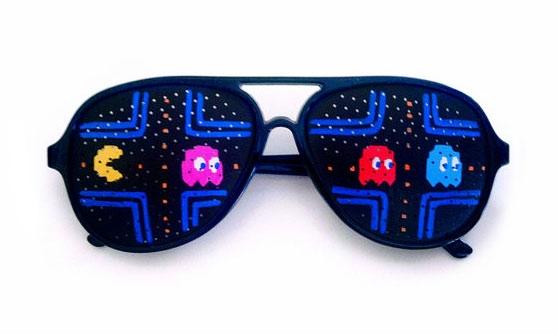 Перфорационные очки для любителей ретро-игр