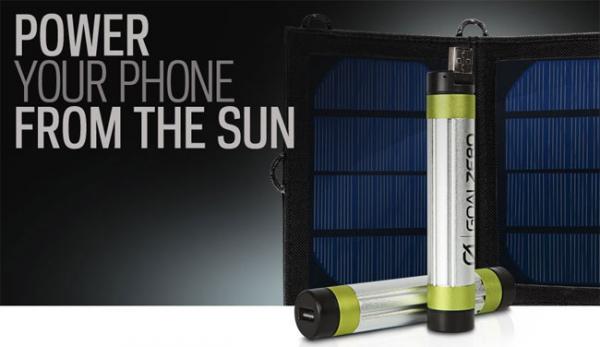 «Солнечное» зарядное устройство Switch 8