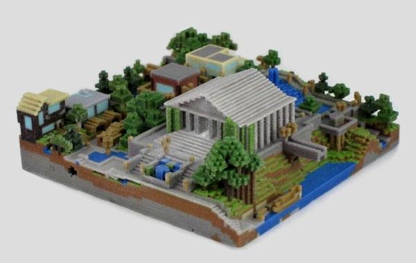 FigurePrints распечатает на 3D-принтере ваш мир из Minecraft