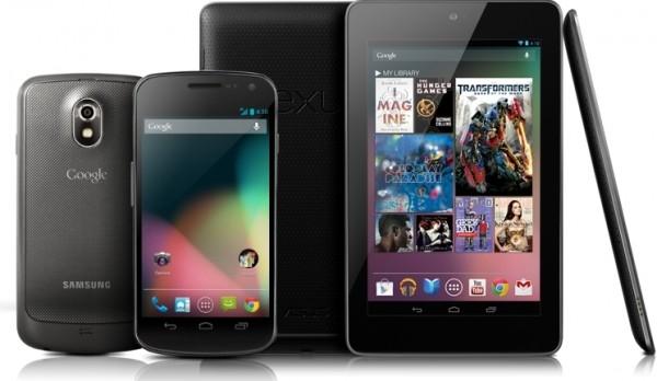 Nexus'ы получили обновление Android 4.2 Jelly Bean