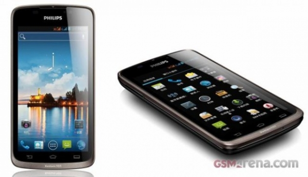 Philips Xenium W832 – Android-смартфон с двумя SIM-картами