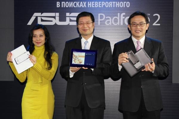 ASUS представила PadFon 2 в Москве
