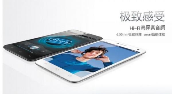 6,5-миллиметровый смартфон выпущен в продажу в Китае
