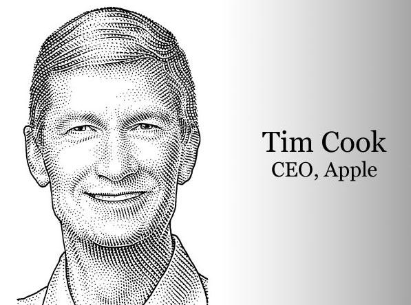 Тим Кук стал самым высокооплачиваемым CEO в США