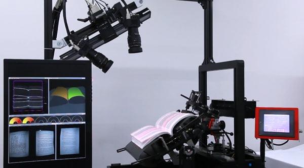 Японцы создали сверхбыстрый сканер для оцифровки книг