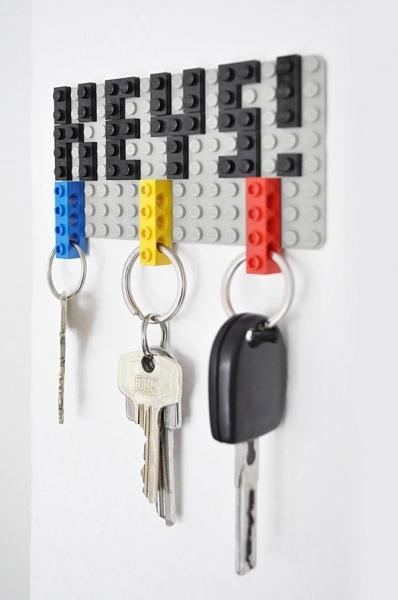 Брелоки с кирпичиками LEGO: все гениальное — просто