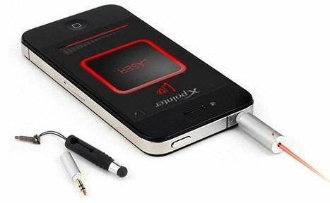 XPointer – лазерная указка для смартфонов
