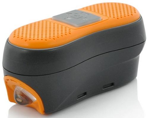 Велосипедная фара с Bluetooth-хэндсфри