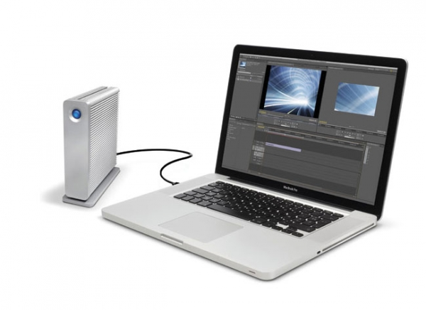 LaCie d2 – внешний накопитель с интерфейсами Thunderbolt и USB 3.0