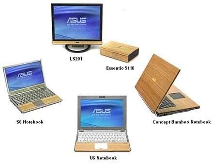 ASUS разрабатывает бамбуковые компьютеры