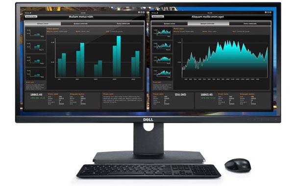 Ультраширокий монитор от Dell поступил в российские магазины